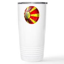 Macedonia Football Travel Coffee Mug