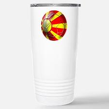 Macedonia Football Travel Mug