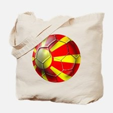 Macedonia Football Tote Bag