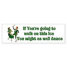 Dance Bumper Bumper Sticker
