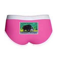 Woolly Rhinoceros Czech Matchbox Label Women's Boy