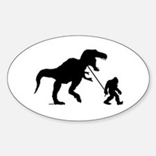 Gone Squatchin with T-rex Decal