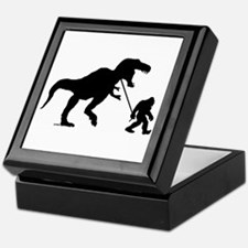 Gone Squatchin with T-rex Keepsake Box
