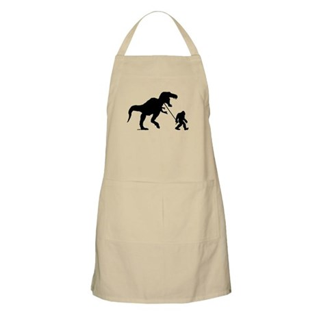 Gone Squatchin with T-rex Apron
