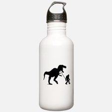 Gone Squatchin with T-rex Water Bottle
