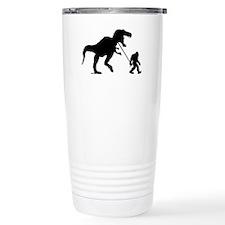 Gone Squatchin with T-rex Travel Mug