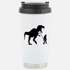 Gone Squatchin with T-rex Travel Mug