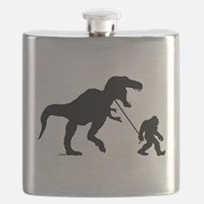 Gone Squatchin with T-rex Flask