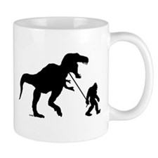 Gone Squatchin with T-rex Mug