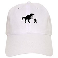 Gone Squatchin with T-rex Baseball Baseball Cap