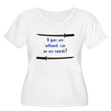 using swords tee Plus Size T-Shirt