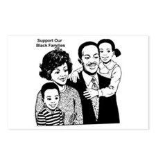 Support The Black Family Postcards (Package of 8)