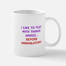 Play with things tee Mug