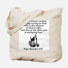 """True Revolution"" Tote Bag"