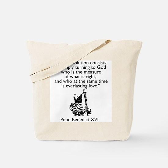 """True Revolution"" Tote Bag"