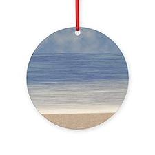 Beach Ornament (Round)