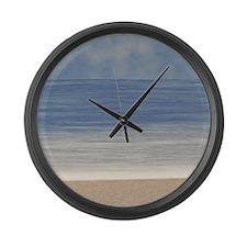 Beach Large Wall Clock