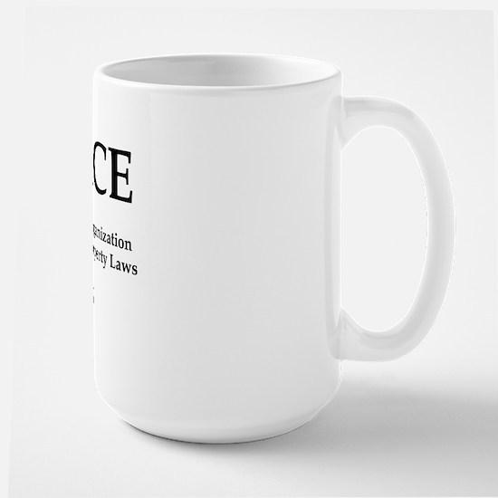Large Mug w URL