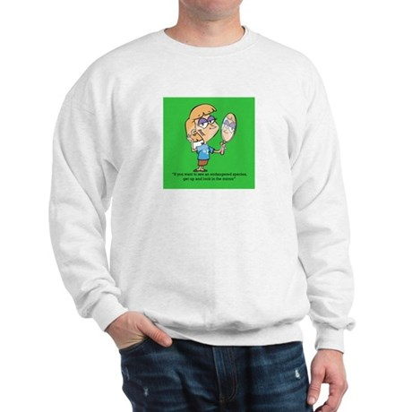Green Species Sweatshirt