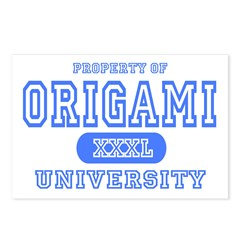 Origami University Postcards (Package of 8)
