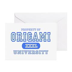 Origami University Greeting Cards (Pk of 10)