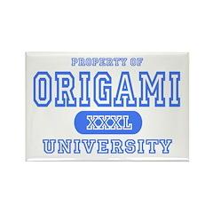 Origami University Rectangle Magnet (10 pack)