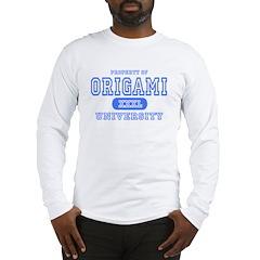 Origami University Long Sleeve T-Shirt