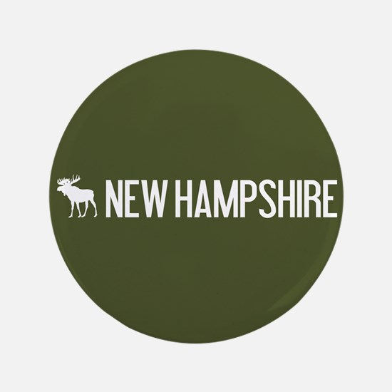 New Hampshire Moose Button