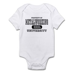 Metalworking University Infant Bodysuit
