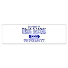 Drag Racing University Bumper Bumper Sticker