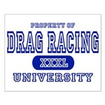 Drag Racing University Small Poster
