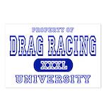 Drag Racing University Postcards (Package of 8)