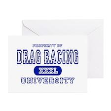 Drag Racing University Greeting Cards (Package of