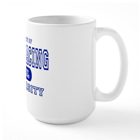 Drag Racing University Large Mug