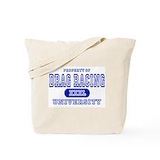 Drag Racing University Tote Bag