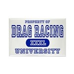 Drag Racing University Rectangle Magnet