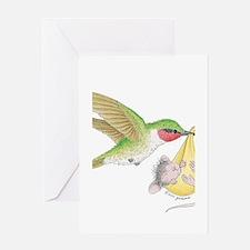 A Birdie Told Me Greeting Card