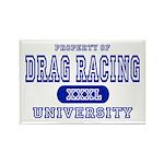 Drag Racing University Rectangle Magnet (10 pack)