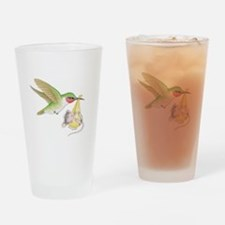 A Birdie Told Me Drinking Glass