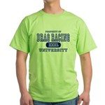 Drag Racing University Green T-Shirt
