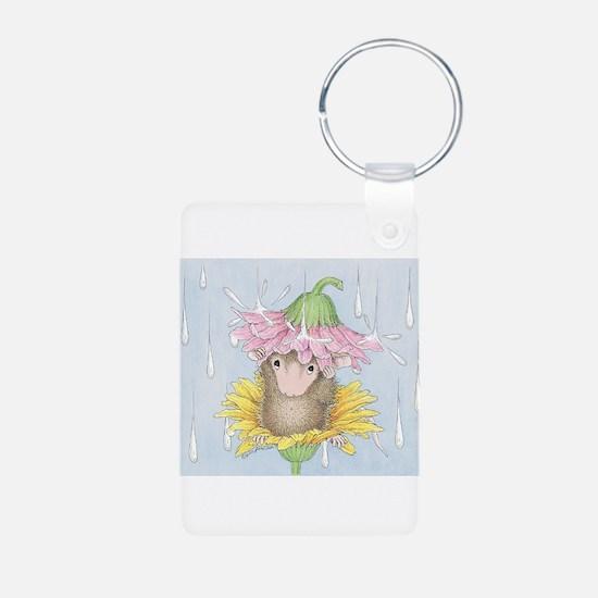 Rainy Daisy Day Keychains