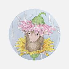 "Rainy Daisy Day 3.5"" Button (100 pack)"