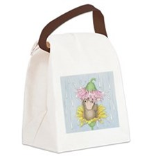 Rainy Daisy Day Canvas Lunch Bag