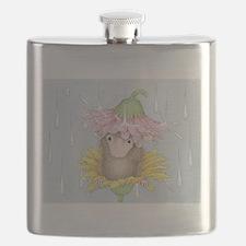 Rainy Daisy Day Flask