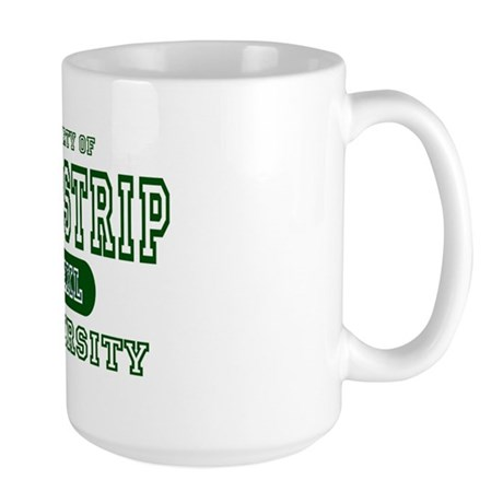 Drag Strip University Large Mug