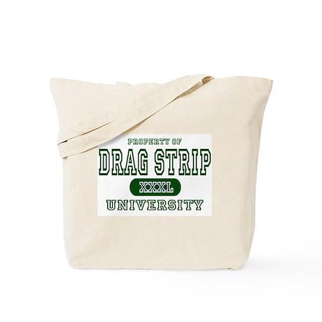 Drag Strip University Tote Bag
