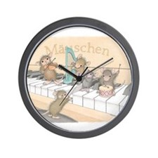 Mice Symphony Wall Clock