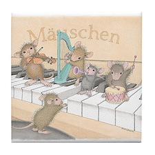 Mice Symphony Tile Coaster