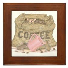 The Need for Caffeine Framed Tile