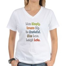 Live Simply. T-Shirt